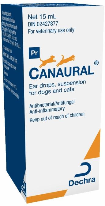 Ear drops suspension